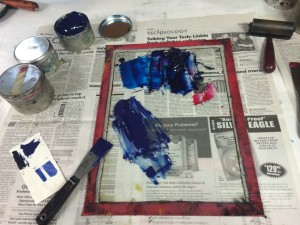 Mixing ink!