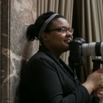 Faith Matthews '14 behind the lens at the Washington State Legislature