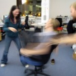 Office Chair Spin