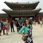 Becca at Gyeongbukgong Imperial Palace in Seoul crop