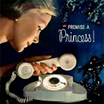 At one time having a princess phone was considered the must have phone! http://www.treehugger.com/clean-technology/the-princess-and-the-ipod.html