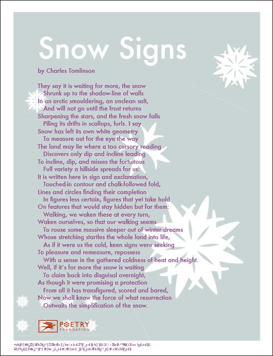 winter poems collins unbound. Black Bedroom Furniture Sets. Home Design Ideas