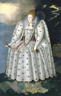 Figure 2: The Ditchley Portrait of Queen Elizabeth I