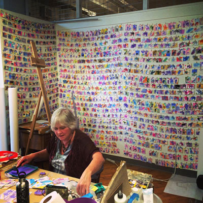 Suzanne in her studio. Source: http://www.goggleworks.org/events/free-lecture-suzanne-fellows-art-activism/