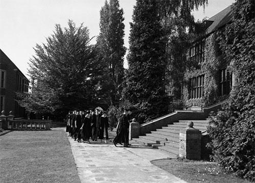 Commencement Summer 1949