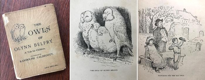 The Owls of Olynn Belfry (c. 1885)
