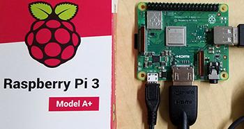 The Raspberry Pi: perfect for a single purpose kiosk