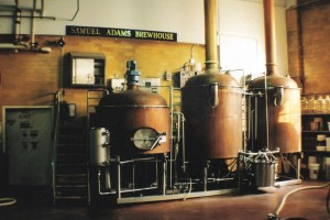 Boilers at the Samuel Adams brewery. This is where all the magic happens...just under