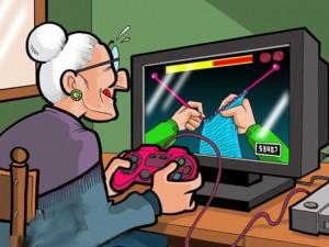 Grandma Video Game