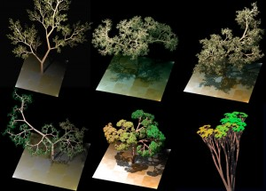 Language-Generated Trees