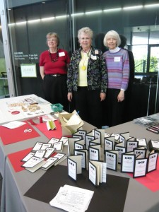 PSBA members, Karen Perrine, Bonnie Egbert, and Rochelle Monner,  Photo by Jan Ward