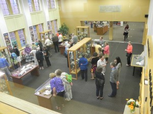 A birds eye view of the 2014 PSBA Member's Exhibition