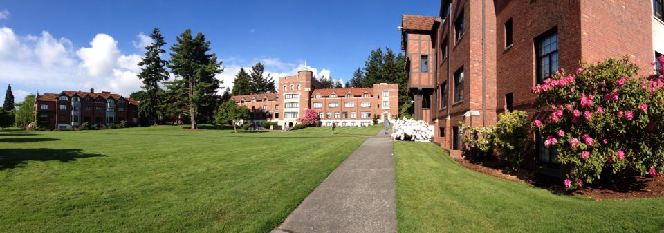 North Quad on a typical beautiful day in the NW