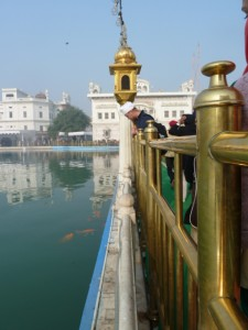 At the Golden Temple