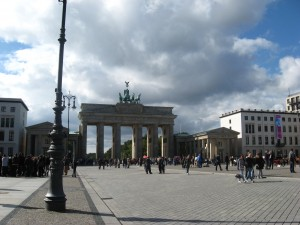 Brandenburger Tor Fall 2010