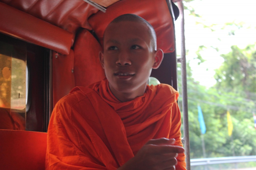 Monk in a songtao