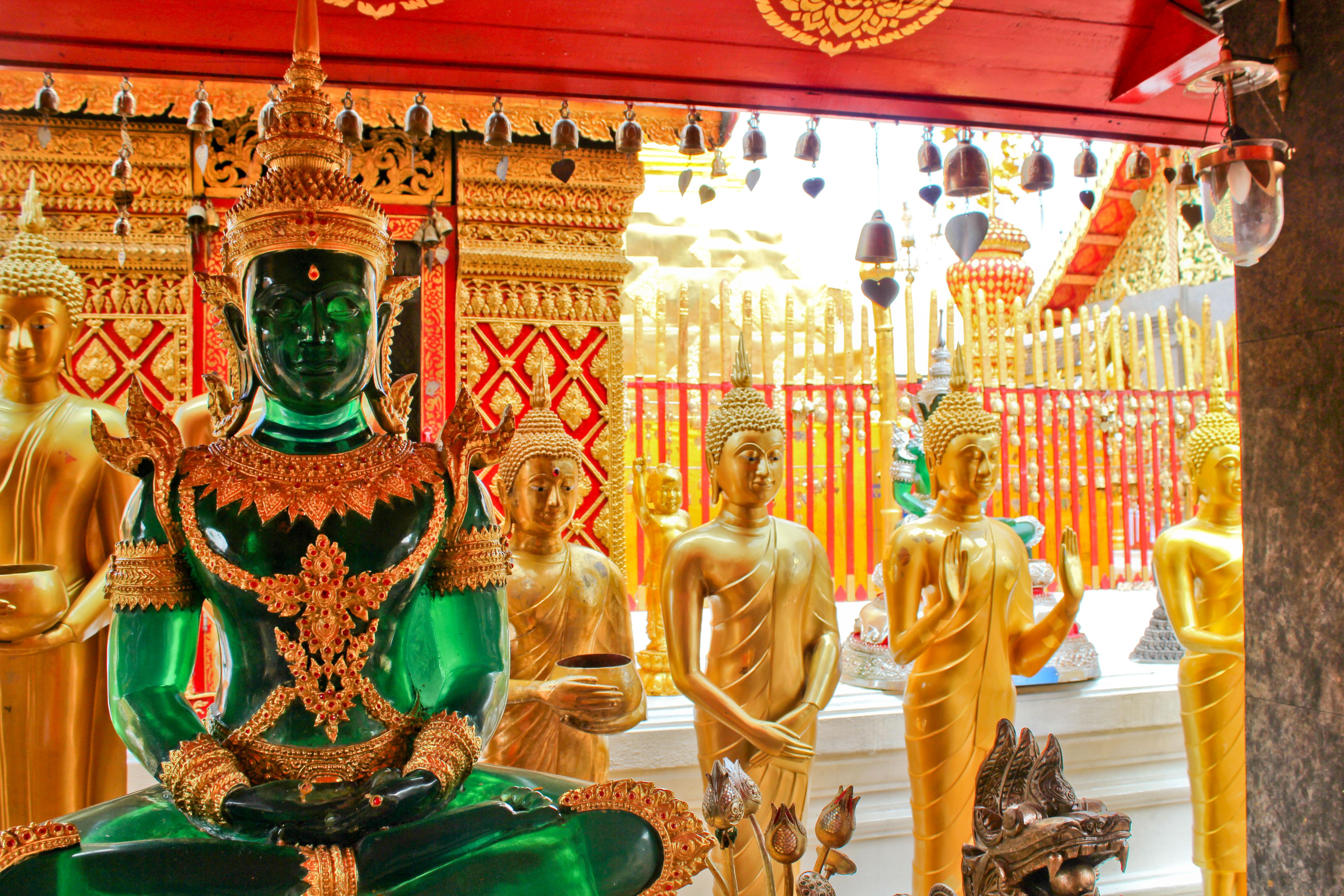 shrine at doi suteph