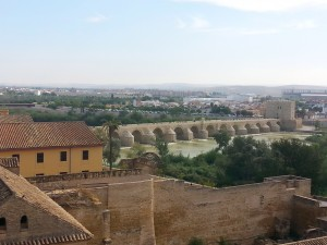 View of Córdoba from the towers of the Alcázar