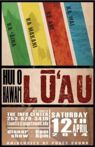 Luau poster