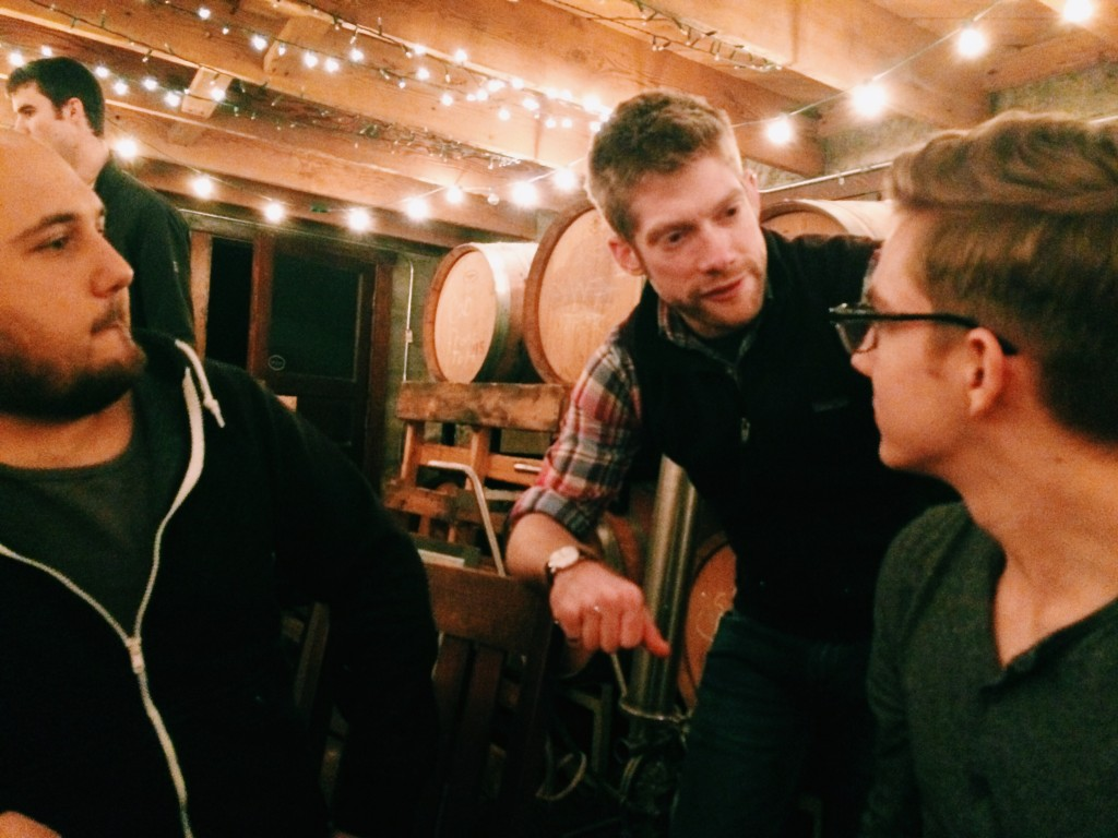Chatting with sommelier and Puget Sound student, Danny Laesch