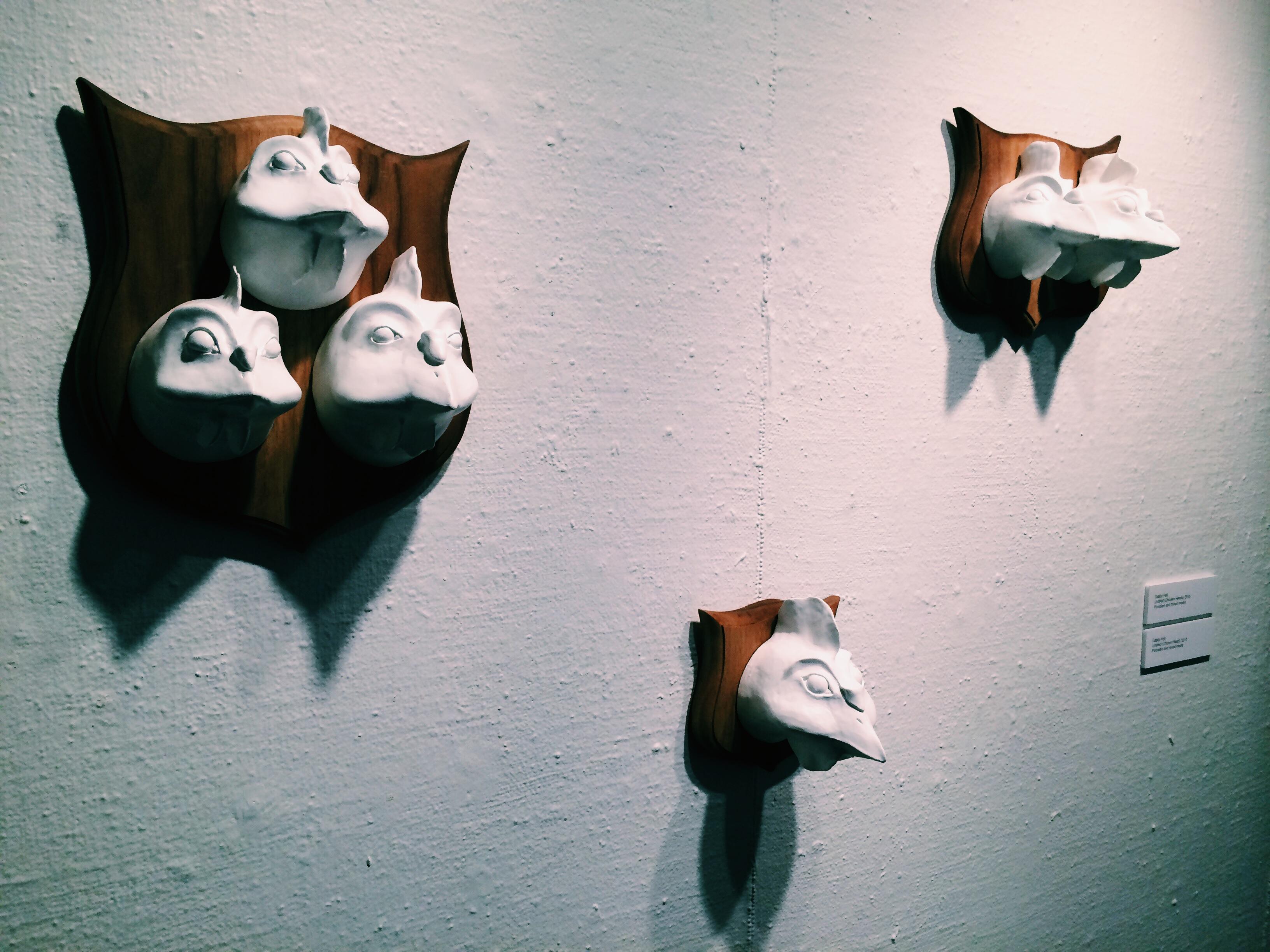 Untitled (Chicken Heads) - Gabby Hall