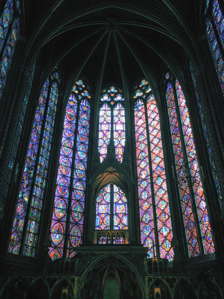 Saint Chapelle's incredible stained glass