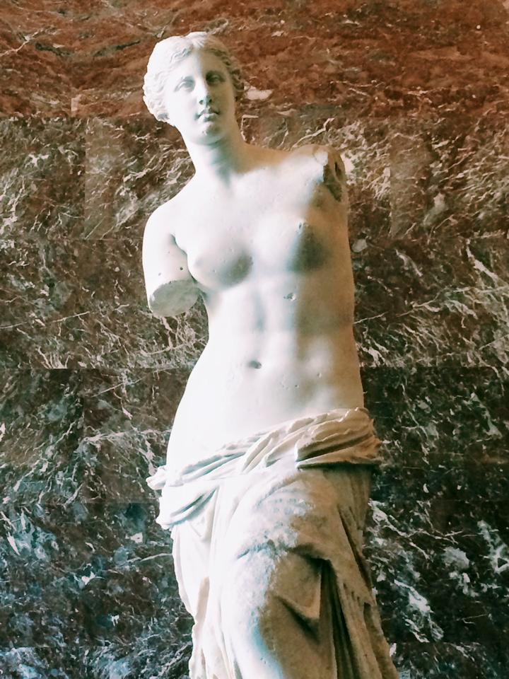 Venus de Milo from my day at the Lourve!