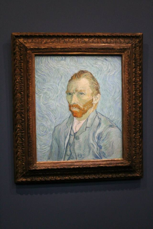 The man himself at the Musee d'Orsay!!