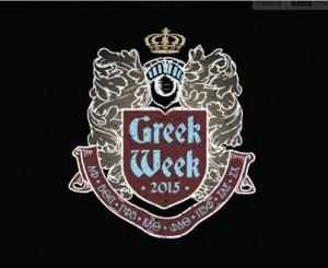 greek week logo