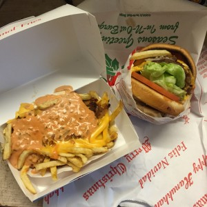 Animal Style Fries and a Double Double