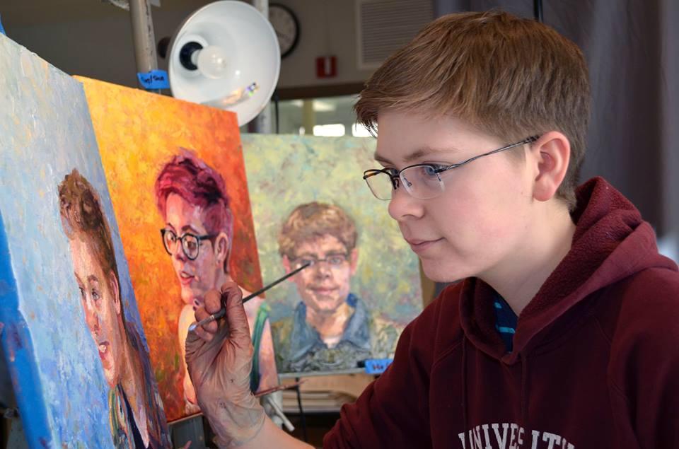 Painter Matt Hufford