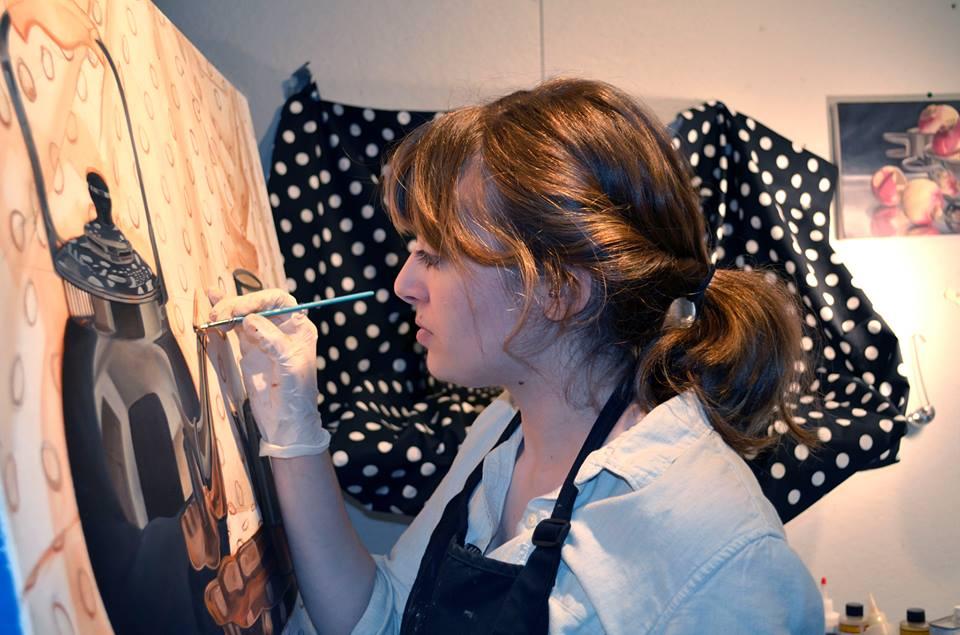 Painter Rachel Kalman