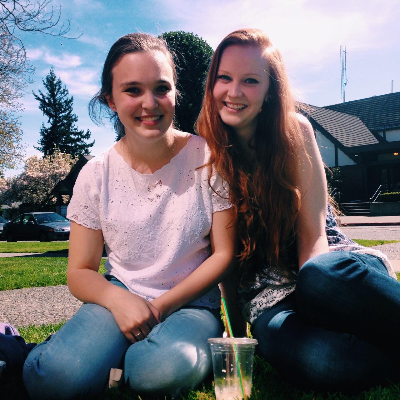 Maia & Maddie :)