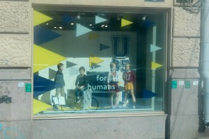 A Store in the St. Petersburg city center selling clothes for humans only...i guess.