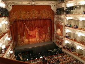 The Mikhailovsky Theater, first founded in 1833.