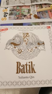 A Batik book with designs you can get inspiration from, or trace over.