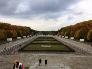 Soviet WWII memorial in Berlin, Germany.