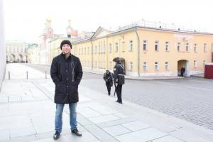 Me at the Kremlin