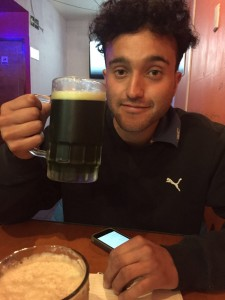 my friend Neto and his beer. Although I may miss the PNW coffee, I am certainly not deprived of good beer in Chile.