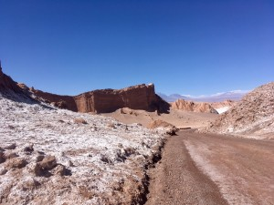"The mystical ""Valle de la Luna"" in the Atacama desert"
